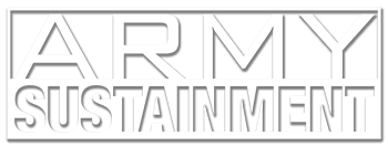 Army Sustainment Magazine logo